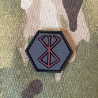 JTG Hexagon Patch Berserker Rune - nášivka
