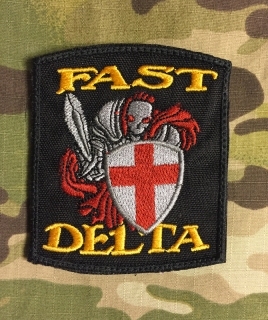 LaPatcheria Fast Team Delta Knight DEA Patch