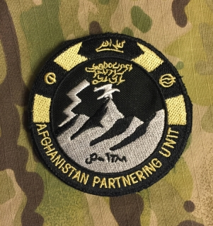 LaPatcheria Afghanistan Partnering Unit Patch