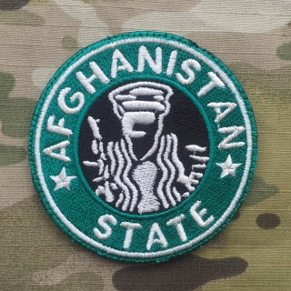 LaPatcheria Afghanistan State Patch - nášivka