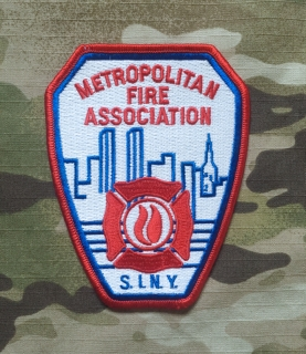 911Patches New York Fire Department Metropolitan Fire Association Patch - nášivka