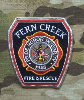 911Patches Fern Creek Fire and Rescue Department Patch - nášivka