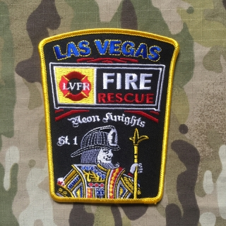 911Patches Las Vegas Fire Department Station 1 Patch - nášivka