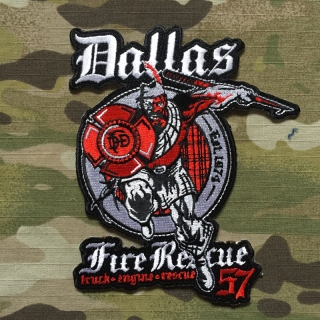 911Patches Dallas Fire Department Station 57 Patch - nášivka