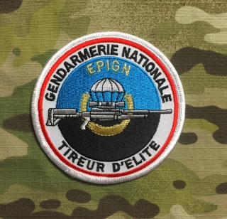 PoliceFirePatches France Gendarmerie Nationale EPIGN Tireur D'Elite - nášivka