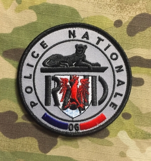 PoliceFirePatches France Police Nationale RAID 06 Nice - nášivka