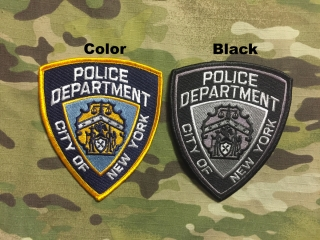 PoliceFirePatches USA City of New York Police Department - nášivka