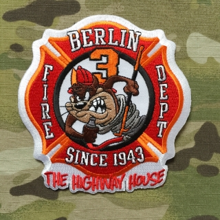 911Patches Berlin Fire Department Station 3 Patch - nášivka