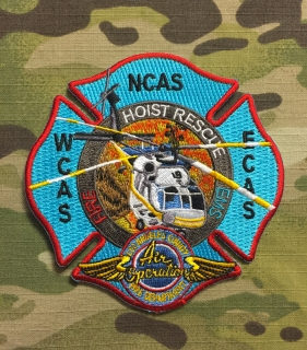 911Patches Los Angeles County Fire Department Air Operations Patch - nášivka