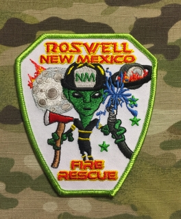 911Patches Roswell Fire Rescue Department Patch - nášivka