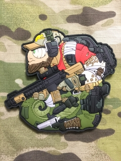 MoralPatches TACTICAL CHAMELEON LEGION Call of Arms PVC Patch - nášivka