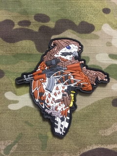 MoralPatches Arabian Falcon Operator PVC Patch - nášivka