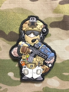 MoralPatches BB Heads Tacticool Dude 4 PVC Patch - nášivka
