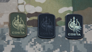 MSM Costa Ludus Logo 2in PVC Patch