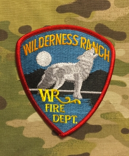 911Patches Wilderness Ranch Fire Department Patch - nášivka