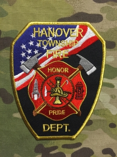 911Patches Hanover Township Fire Department Patch - nášivka