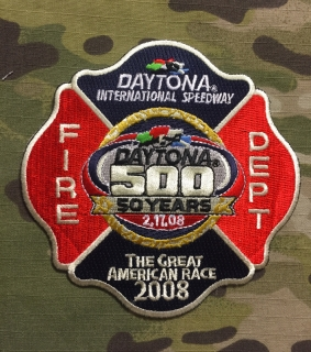 911Patches Daytona International Speedway Fire Department Patch - nášivka