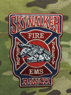 911Patches Skywalker Ranch Fire Department Patch - nášivka