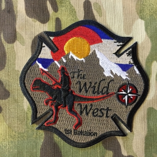 911Patches South Metro Fire Rescue Department Battalion 1 Patch - nášivka