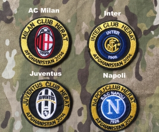LaPatcheria Afghanistan 2014 Club Herat Patch