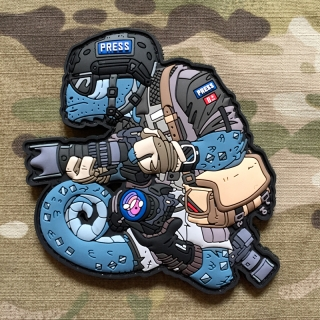 MoralPatches Tactical Chameleon Legion Tactical Photographer PVC Patch - nášivka