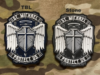 MoralPatches St. Michael PVC Patch - nášivka