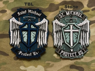 MoralPatches St. Michael Patch - nášivka