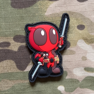MoralPatches Deadpool 2 PVC Patch - nášivka