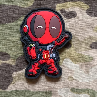 MoralPatches Deadpool 3 PVC Patch - nášivka