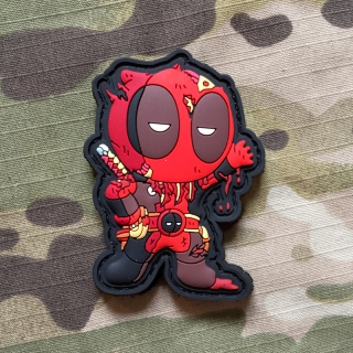MoralPatches Deadpool 4 PVC Patch - nášivka