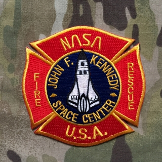 911Patches John F Kennedy Space Center NASA Fire Rescue Department Patch - nášivka