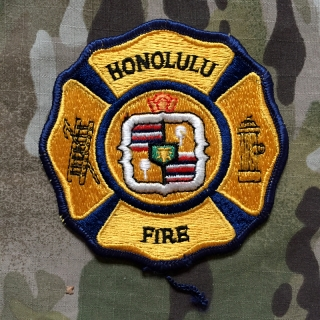 911Patches Honolulu Fire Department Patch - nášivka
