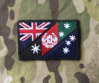 LaPatcheria Australia/Afghanistan Flag Patch