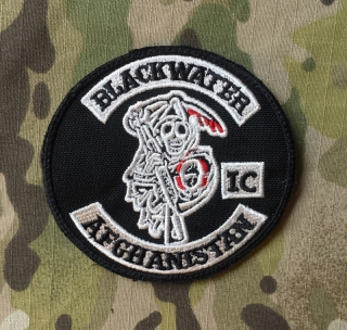 LaPatcheria Blackwater Afghanistan Patch