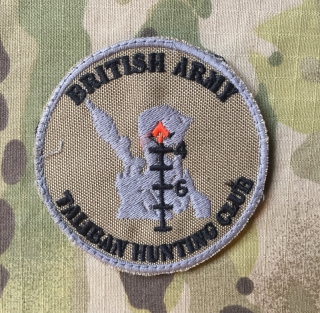 LaPatcheria British Army Taliban Hunting Club Patch