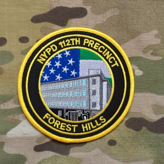 PoliceFirePatches USA NYPD 112th Precinct Forest Hills Patch - nášivka