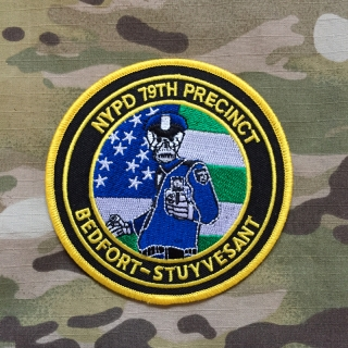 PoliceFirePatches USA NYPD 79th Precinct Bedfort-Stuyvesant Patch - nášivka