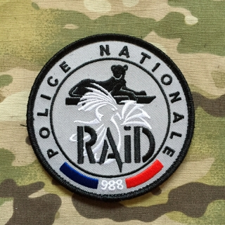 PoliceFirePatches France Police Nationale RAID 988 New Caledonia Patch - nášivka