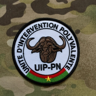 PoliceFirePatches Burkina Faso UIP-PN Unite D´Intervention Polyvalente Patch - nášivka
