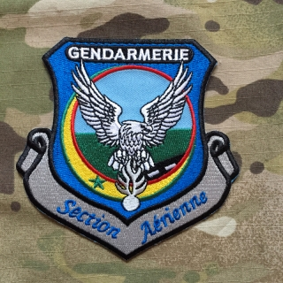 PoliceFirePatches Senegal Gendarmerie Section Aérienne Patch - nášivka