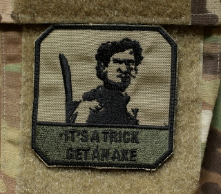 LaPatcheria Army of Darkness - It´s a Trick Get an Axe Patch