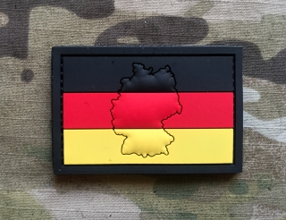 101inc Contour Flag Germany PVC Patch - nášivka