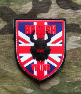 101inc Viking British PVC Patch - Color - nášivka