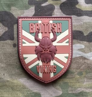 101inc Viking British PVC Patch - Multicam - nášivka