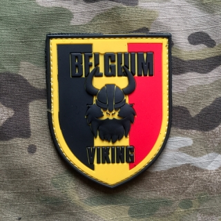 101inc Viking Belgium PVC Patch - Color - nášivka