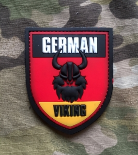 101inc Viking German PVC Patch - Color - nášivka