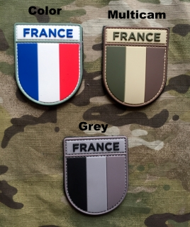 101inc France Army PVC Patch - nášivka
