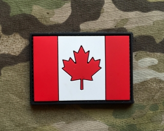 101inc Canada Flag PVC Patch - nášivka