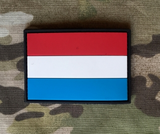 101inc Netherland Flag PVC Patch - nášivka