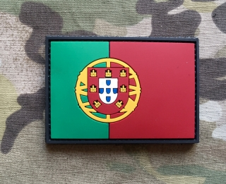 101inc Portugal Flag PVC Patch - nášivka